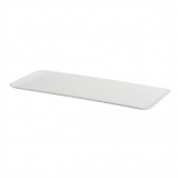 Dalebrook SAN Rectangular Tray White 585mm