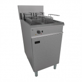 Falcon Chieftain Twin Tank Twin Basket Free Standing Electric Fryer E1848