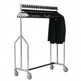 Bolero Heavy Duty Z Garment Rail With 20 Hangers