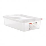 Araven Polypropylene 1/1 Gastronorm Food Containers 13.7Ltr with Lid