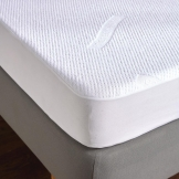Tencel Cloud Mattress Protector Super King (50% Lyocell/ 50% Polyester Construction)