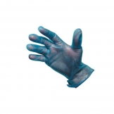 Powder Free Blue Vinyl Gloves Medium
