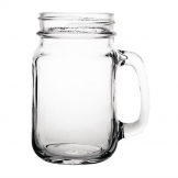 Olympia Handled Jam Jar Glasses 450ml (Pack of 12)