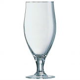 Arcoroc Cervoise Stemmed 2/3 Pint Beer Glasses 380ml CE Marked (Pack of 24)
