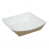 Colpac Compostable Kraft Food Trays Medium 148mm (Pack of 500)