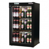 Autonumis EcoChill 1 Door Back Bar Cooler Black A209186