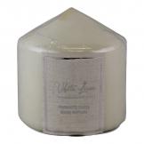 White Linen Fragranced Pillar Candle