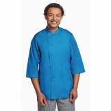 Chef Works Unisex Chefs Jacket Blue L