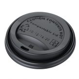 Fiesta Green Compostable Coffee Cup Lids 340ml / 12oz (Pack of 50)