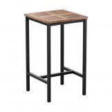 Malay Square Complete Bar Table