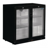 Polar Back Bar Cooler with Hinged Doors 208Ltr
