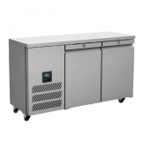 Williams Jade Slimline Double Door Refrigerated Counter 244Ltr HJSC2-SA