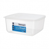 Stewart Seal Fresh Square Cake Container With Lid 6.5 Ltr