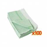 Bulk Buy Pack of 100 Wonderdry Tea Towels (E700)