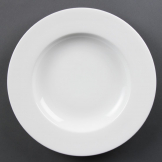 Olympia Whiteware Pasta Plates 310mm (Pack of 4)