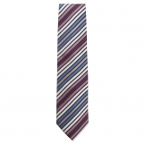 Chef Works Tie Blue Skinny Stripe