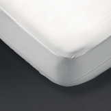 Protect-A-Bed Allerzip Smooth Mattress Protector Single (100% Polyester)