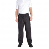 Chef Works Mens Better Built Baggy Chefs Trousers Pinstripe L