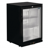 Polar Back Bar Cooler with Hinged Door 138Ltr