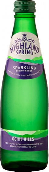 Highland Spring - Sparkling (24x 330ml Bottles)