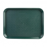 Kristallon Large Polypropylene Fast Food Tray Green 450mm