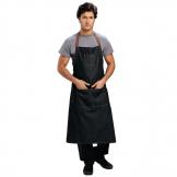 Chef Works Urban Memphis Wide Bib Apron Black
