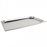 Vogue Stainless Steel 1/1 Gastronorm Pan 20mm