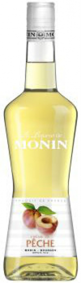 Monin - Peach Liqueur (70cl Bottle)