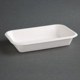 Fiesta Green Compostable Bagasse Food Trays 24oz (Pack of 50)