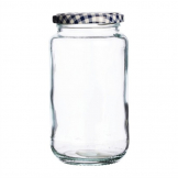 Kilner Round Twist Top Jar 580ml (Pack of 6)