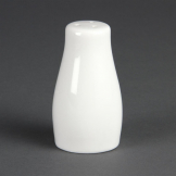 Olympia Whiteware Salt Shakers 90mm (Pack of 12)