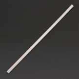 Fiesta Green Compostable CPLA Flexible Straws Clear
