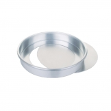 Aluminium Sandwich Cake Tin With Removable Base 230mm