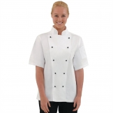 Whites Chicago Unisex Chefs Jacket Short Sleeve L