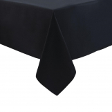 Mitre Essentials Occasions Tablecloth Black 1350 x 1350mm