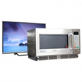 "Panasonic 1800W Combination Microwave Grill NE-C1275 with FREE 32"" LED TV"
