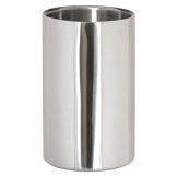 Polished Stainless Steel Wine And Champagne Cooler