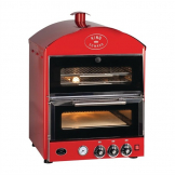 King Edward Pizza King Oven and Warmer PK1W Red