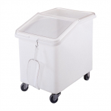 Cambro Mobile Ingredient Bin White 140Ltr