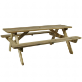 Hereford Picnic Table - 6 Seater