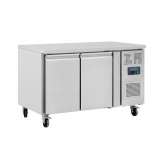 Polar U-Series Double Door Counter Fridge 282Ltr
