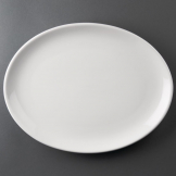 Athena Hotelware Oval Coupe Plates 305 x 241 mm (Pack of 6)