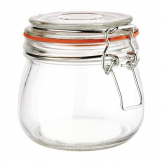 Vogue Clip Top Preserve Jar 500ml