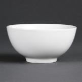 Bulk Buy Pack of 24 Olympia Whiteware Rice Bowls 130mm
