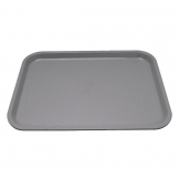 Kristallon Small Polypropylene Fast Food Tray Grey 345mm