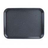 Kristallon Foodservice Tray Charcoal 265 x 345mm