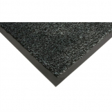 COBA Black Microfibre Entrance Mat Large