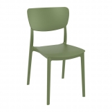Monna Side Chair - Olive Green