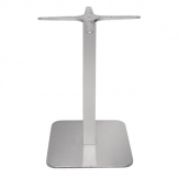 Bolero Square Stainless Steel Table Base