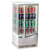Polar Display Fridge 68Ltr White